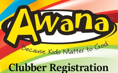 Awana Clubber Registration