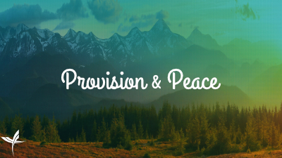 Provision & Peace