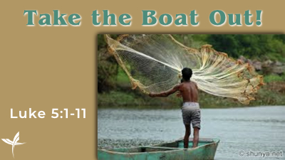 Take the Boat Out!